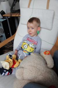 Adámek na pobytě v Therapy Centre