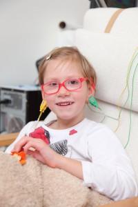 Dětská mozková obrna a neurofeedback - Anetka